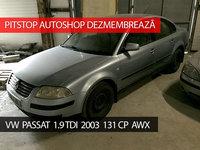 Dezmembrez VW Passat Limo 2003, 1.9 TDI, 131CP, AWX