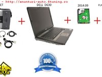Diagnoza completa Mercedes STAR C3 LAPTOP HDD 2014 09