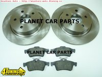 Discuri Set Placute frana Spate Ford Focus 2005 2010