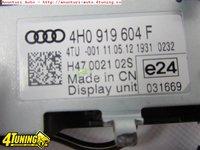 Display Audi A8 S8 4H Original Color MMI 3G cod 4H0919604F