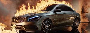 Doua reclame de senzatie la Mercedes-Benz CLA au fost filmate in Bucuresti