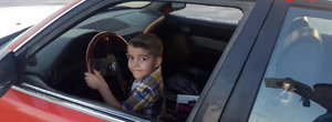 Drifturi la 3 ani: un pustan care a iesit din scutece ne arata cum se invarte un BMW Seria 5