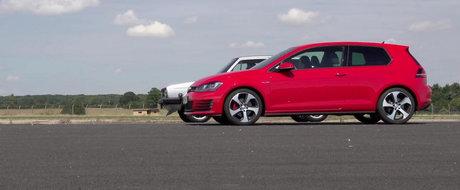 Duelul Generatiilor: Scurta liniuta intre primul si ultimul Volkswagen Golf GTI