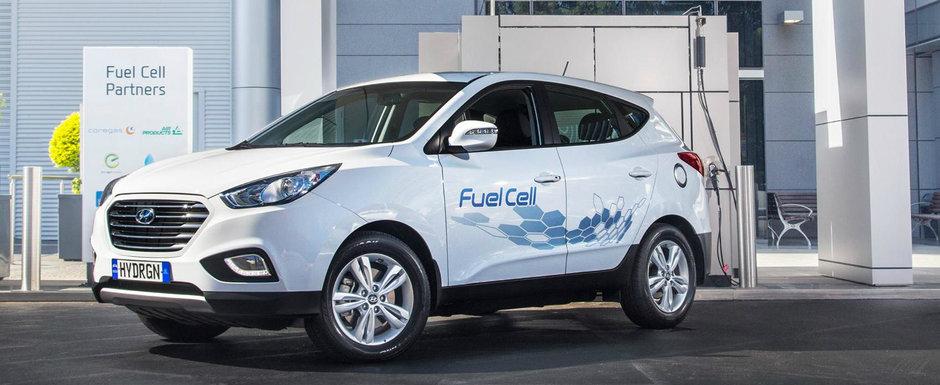 Dupa Tucson Fuel Cell, Hyundai a anuntat ca va mai lansa un SUV alimentat cu hidrogen in 2018