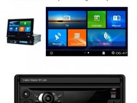 DVD AUTO 1DIN NAVIGATIE GPS CARKIT USB TV NAVD K801