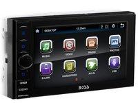 Dvd auto 2din cu usb si mirror link, se poate controla telefonul android si Iphone din ecranul apara