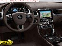 Dvd Auto Navigatie NAVI X Dedicata VW TOUAREG 2012 2013 Dvd Gps Carkit Tv Comenzi Pe Volan Model 2013