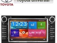 DVD AUTO NAVIGATIE TOYOTA HILUX RAV 4 GPS CARKIT NAVD-D8158T MONTAJ CALIFICAT