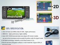 DVD AUTO Navigatie TTi-8952i Dedicata BMW SERIA 3 E46 Internet 3g Wifi GPS Tv Butoane Cauciucate Oem Car Kit Picture In Picture Model 2013