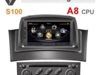 DVD AUTO NAVIGATIE WITSON W2 C098 DEDICAT Renault Megane 2 PLATFORMA S100 DVD GPS TV DVR CARKIT