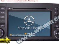 Dvd Auto Navigatie Witson W2 D9807e Mercedes Benz R CLASS R300 R 350 R500 Gps Dvd Carkit Cu Preluare Agenda Model 2012