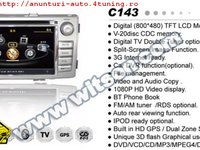 Dvd Gps Auto Navigatie Dedicata Toyota Hilux 2012 Navd C143 Platforma S100 Procesor Dual Core A8 1ghz 512 Ddr 2 Dvd Gps Tv Dvr Carkit Preluare Agenda Telefonica