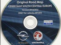 DVD harta navigatie OPEL CD500 NAVI Europa Romania 2014