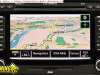 DVD NAVIGATIE RNS510 VW SKODA HARTI GPS ROMANIA EUROPA 2015