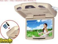Dvd Plafoniera BEJ Monitor LCD Tft 12 1 Inch Divx Usb Sd Modulator Fm
