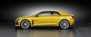 E oficial! Iata noul Audi Sport Quattro Concept!