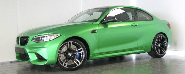 E un Lamborghini sau un BMW? M2-ul asta se lauda cu o caroserie... verde