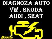 Efectuez diagnoza tester test auto Volkswagen Skoda Seat Audi Bucuresti