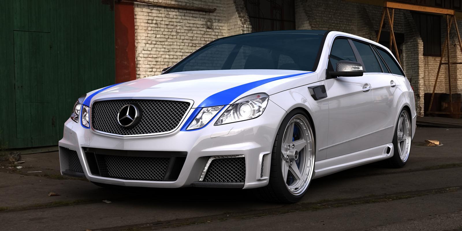 Ни дня без тюнинга Mercedes-Benz E63 AMG от GWA-Tuning (ФОТО) .