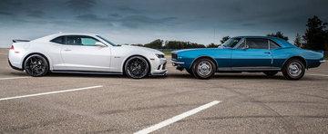 Evolutia estetica a Chevrolet-ului Camaro. O istorie in imagini