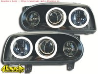 Far VW Golf 3 cu Angel Eyes