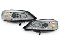 Faruri DAYLINE Opel Astra G 98-04 Semnal LED crom