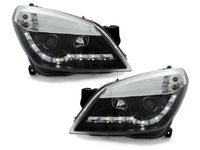 Faruri DAYLINE Opel Astra H 04-09 negru