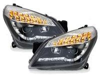 Faruri DAYLINE Opel Astra H 04-09 Semal LED, negru