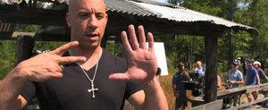 Fast and Furious 7: Primele imagini de la filmari!