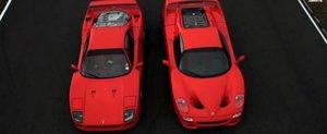 Ferrari F40 vs. F50: cel mai reusit versus vazut vreodata