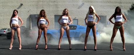 Fete frumoase si masini periculoase: Calendarul AM 2014 le are pe toate!