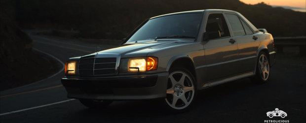Filmul ASTA iti va face ziua mai buna. Din el vei afla povestea unui Mercedes 190E 2.3-16