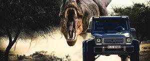 Filmul 'Jurassic World 2015': dinozaurii si masinile care ii fugaresc