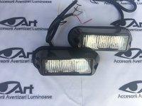 Flash-uri cu 3 LED si lupa- profesionale Galbene(Portocaliu) KL23