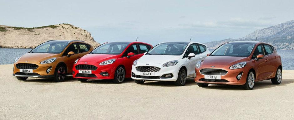 Ford a lansat cea de-a 8-a generatie a modelului Fiesta