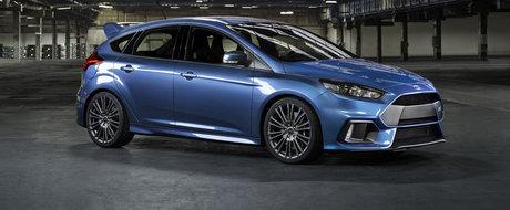 Ford dezvaluie oficial noul Focus RS, cu 320+ CP si tractiune integrala