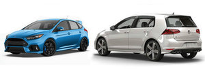 Ford Focus RS vs Volkswagen Golf R: Ce alegi si de ce?