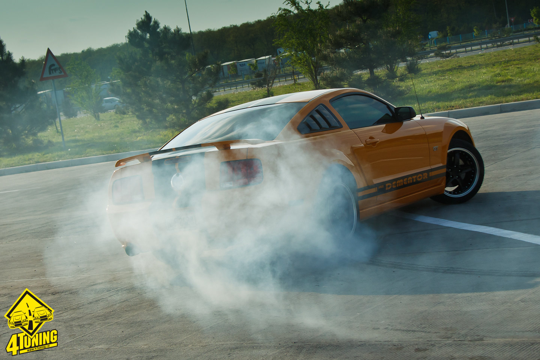 Poze Masini Tunate Din Romania Ford Mustang Gt