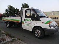 FORD Transit 2.4TD Camioneta Autoutilitara cu Lada/Bena