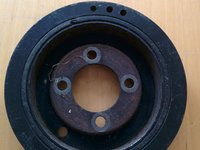 Fulie motor Vibrochen Peugeot 406 RLZ hpi C5 Citroen motor 2000 benzina dezmembrari