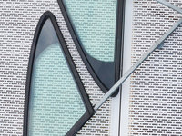 Geam mic portiera dreapta fata Peugeot 407