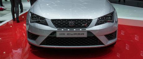 Geneva 2014: SEAT Leon Cupra 280 e noul rege cu tractiune fata al 'Ring-ului