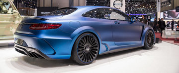 Geneva 2015: Mansory S63 Diamond are 0 diamante, ofera in schimb 985 CP