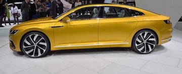 Geneva 2015: Volkswagen Sport Coupe GTE prefigureaza urmatorul CC
