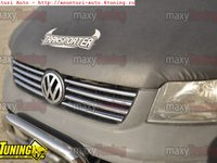 Grila inox fata VW T5 Transporter / Caravelle 2003-2010