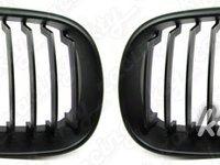 Grile negru mat BMW seria 5 e61 LCI Facelift model M M5 ( 2007 - 2010 )