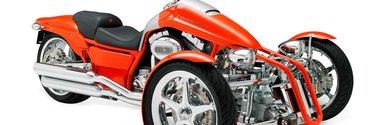 Harley Davidson dezvaluie prototipurile cu 3 roti Penster