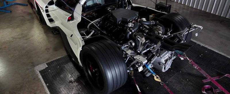 Hennessey Venom GT revine pe dyno, intr-o sesiune de 1.244 CP
