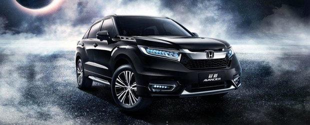 Honda anunta un SUV cu motor turbo si cutie in noua trepte. Uite primele imagini cu noul Avancier