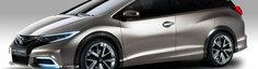Honda Civic Tourer Concept - Primele imagini oficiale
